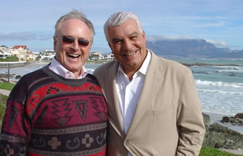 Keith Grenville and Dr. Zahi Hawass